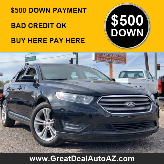 500 Down Used Cars Near Me Phoenix